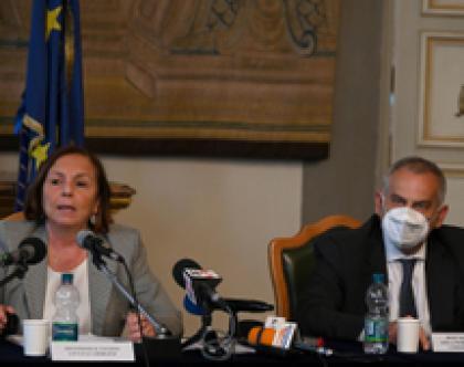 TORINO: MINISTRO LAMORGESE PRESIEDE COMITATO PROVINCIALE SICUREZZA